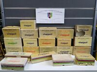 Vintage Campagnolo Nuovo Record Empty Box Collection 21 Boxes Man Cave Display