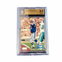 Peyton Manning 1998 Topps Stadium Club BGS 9.5 Rookie Card RC #195