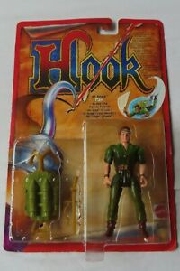 Hook - Air Attack -  Peter Pan Figure By Mattel in 1991