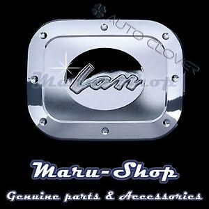 Chrome Fuel Gas Filler Door Cap Cover Trim for 96~ Chevrolet Lanos/Sens