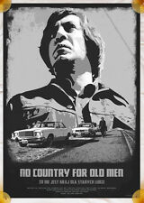 NO COUNTRY FOR OLD MEN - polish movie poster / print Coen Javier Bardem photo