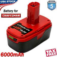 6.0Ah 19.2V For Craftsman C3 Xcp Lithium Diehard C3 Battery 11375 Pp2030 130279