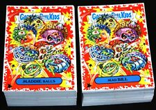 2019 GARBAGE PAIL KIDS WE HATE THE 90'S BLOODY NOSE RED COMPLETE SET 220 CARDS