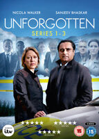 Unforgotten: Series 1-3 DVD (2018) Nicola Walker cert 15 6 discs ***NEW***
