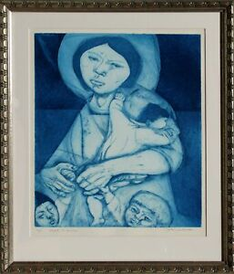 Irving Amen, Vietnam, Etching, signed and numbered in pencil