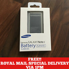 Official Genuine Original Samsung Galaxy Note 4 3220mAh EB-BN910BBE Battery