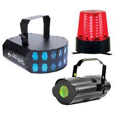 American DJ LED Party Pak 2 Mini Gressor Tri, Tri Gem, & b6r LED Licht Effekte