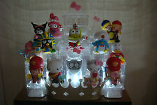 HELLO KITTY & FRIENDS 40TH ANNIVERSARY  COMPLETE SET W/ LIGHT UP CASTLE