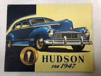 Hudson for 1947 Dealer Sales Brochure Super Series Commodore Models 20 Pages