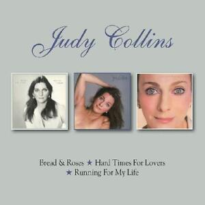 Judy Collins - Bread & Roses/Hard Times for Lovers/Running for My Life (2CD) NEW