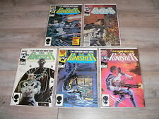 The Punisher Limited Series #1-5 Full set 1985 Marvel Comics~High Grade