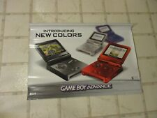 Nintendo Game Boy Advance SP Console System Final Fantasy T Store Display Banner