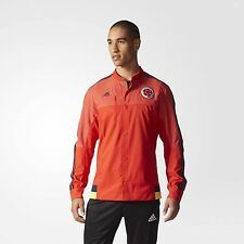 Adidas Men's FCF COLOMBIA ANTHEM TRACK JACKET, M36365 Red/Navy, US Size S $90