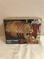 Whiskey Barrel Wood Drink Dispenser Christmas 800 ML / 27 FL OZ REFINERY AND CO.