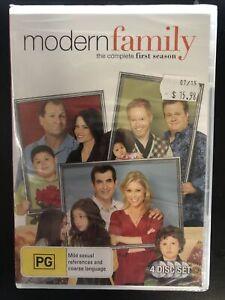 Modern Family The Complete First Season DVD 2010, 4-Disc Set Region 4