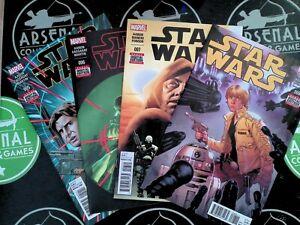 Star Wars Marvel #5-25 SET Jason Aaron 2015 VF/NM 9.0 AWESOME!