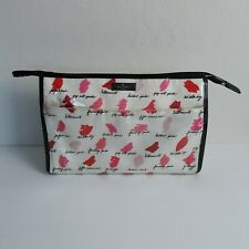 Kate Spade Lipstick Smudge Large Heddy Lilac Court Cosmetic Case Bag
