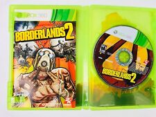 Borderlands 2 (Microsoft Xbox 360, 2012) Complete Case and Manual