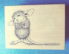 House Mouse  Mudpie Wonders 247 E~ EUC~ Stampa Rosa 1999 Rubber Stamp ~ Retired