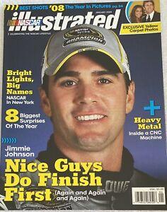 NASCAR ILLUSTRATED:  2009 , Jimmie Johnson cover; LN In COLTR SLV