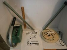 Vintage Compass Judge 2 Metal Detector Complete. Untested Unit With Instructions