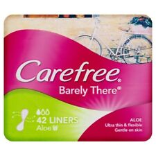 Carefree barely There Ultra Thin & Flexible Aloe Vera Liners 42 pack