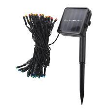 SODIAL(R)50 LED 2 Modi solar Lichterkette perfekte Outdoor Garten Dekoratio T0G6