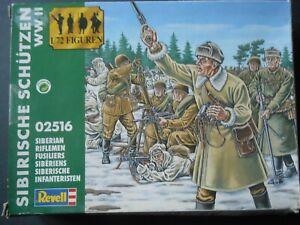 REVELL Sibirische Schutzen (SIBERIAN RIFLEMEN) WWII 1:72 Model figures 02516