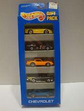 Hot Wheels 1993 Chevrolet 5 Car Gift Pack 1:64 Diecast B-12