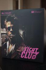 Blitzway 1/6 Fight Club Tyler Durden Red Jacket Ver Figure + Full Metal Glasses+