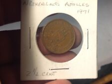 1971 Netherlands Antilles 2-1/2 Cent