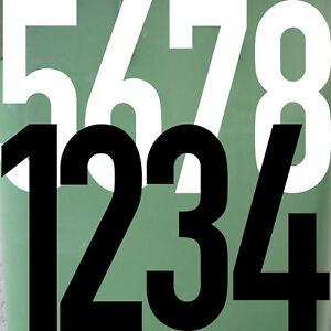 40cm DIN1451 Deseo Wahl N º Pegatina Tatuaje Números Número Práctica Casa Puerta