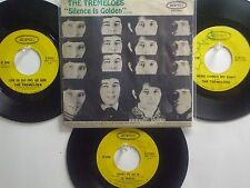 LOT OF 4  ' THE TREMELOES '  HIT 45's+1PS    THE 60's!