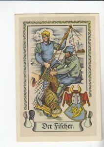 Der Fischer  Tengelmann  Stände  Zünfte Handwerck Bild #8  1934