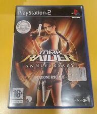 Lara Croft Tomb Raider Anniversary Edizione Speciale GIOCO PS2 VERSIONE ITA