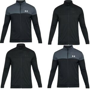 Under Armour UA Mens Tracksuit Top Full Zip Up Training Jacket Sportstyle Tops