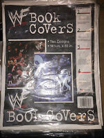 WWF Stone Cold Steve Austin 3:16/The Rock School Book Covers NEW in Package WWE