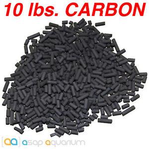 Bulk Aquarium Carbon 10 lbs. Premium Activated Pelletized Carbon Aquarium Filter