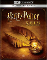 Harry Potter 8-Film Collection (4K Ultra HD + Blu-ray) *BRAND NEW*