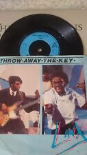 LINX THROW AWAY THE KEY 1981 CHRYSALIS 45