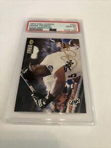 1994 upper deck collectors choice gold signature Frank Thomas #354 PSA 10 Gem MT