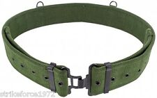 NEW 58 Pattern Green Army Webbing Belt - Size up to 44""