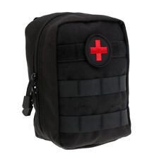 Tactical EMT Pouch Medic EMS Paramedic Molle First Aid Pouch Bag Black