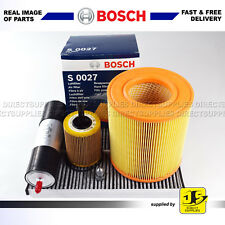 BOSCH SERVICE KIT AUDI A6 2.0 TDi (136,163,170 BHP) FILTERS AIR OIL FUEL CABIN