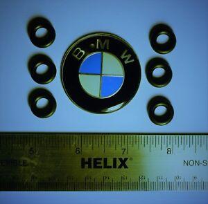BMW Mini 6x Upper Fuel Injector O-Ring Set Kit 13641437487 E46 E53 E60 E90 E83