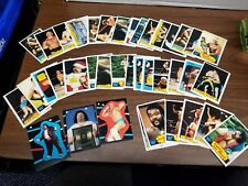 1989 New Kids On The Block Trading Card Large Lot 60 Cards + 11 Stickers