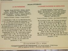 CD / IL ETAIT UNE FOIS L'OPERETTE / LA VIE PARISIENNE / DUCHESSE DE GEROLSTEIN