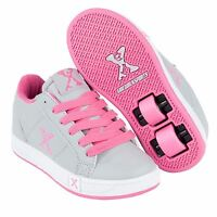 Sidewalk Sport Kids Lane Girls Lace Up Flat Skate Wheeled Roller Shoes