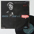 """Vinyle 33T Edith Piaf """"Edith Piad à l'Olympia - n°3"""" - 25cm"""