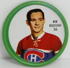 1962 – 1963 Shirrif Hockey Coin – #56 Bob Rousseau – Montreal Canadiens